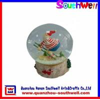 Quality Polyresin Chrsitmas Gifts,Xmas Water Globe for sale