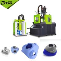 China Non Toxic Gas Mask Vertical Rubber Moulding Press High Speed 12.1kw on sale