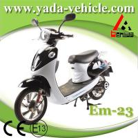 Quality 48v 450w 12ah 16inch drum brake sport style used motorcycles for sale  (yada em23) for sale