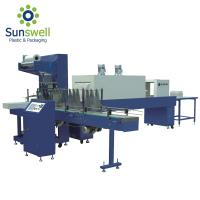 China Pe Film Fully Automatic Shrink Wrapping Machine For Water Juice Carbonated Drink on sale