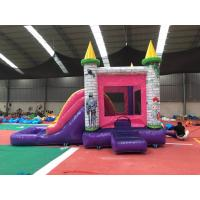 China Indoor Children'S Inflatable Jump House Princess Bounce House With Pool on sale