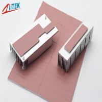 Buy Pink Heat Dissipation Fins Thermal Gap Filler For LED - lit Lamps -50 - 200℃ Continuos Use Temp 1.0 W/m-K at wholesale prices