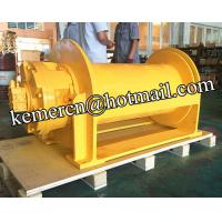 China custom design 12 ton hoisting hydraulic winch for marine application from China on sale