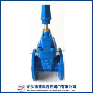NON rising stem resilient soft seat DIN F4 gate valve