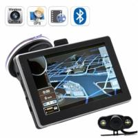 Quality 5 Inch Touchscreen GPS Car Navigation, Car Navigation System with GPS IGO8 Map free for sale