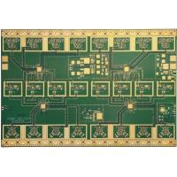 China Immersion Gold PCB Printed Circuit Board , High Frequency Board Copper Thickness 1OZ on sale