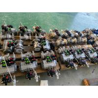 Quality pneumatic actuated ball valves auto control actuators pneumatic for sale