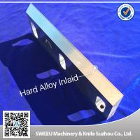 Quality Highly Processed Carbide Cutting Inserts / Plastic Grinder Blades D2 Material for sale