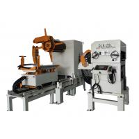 Buy cheap Sheet Metal Straightener Uncoiler Feeder With 0.5Mpa Pneumatic Pressure from Wholesalers