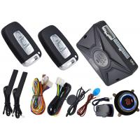 Quality RIFD Emergeny Smart Car Alarm System With Shock Sensor Alarm Reminding for sale