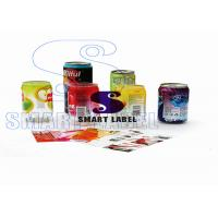 Holographic Shrink Sleeves Tamper Evident Shrink Bands 40 Micron With Eco - Friendly Ink 9 Colors