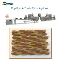 Buy cheap Dog Care Teeth Chewing Snacks Pet Treat Machine 380V Or Customizable Voltage from wholesalers