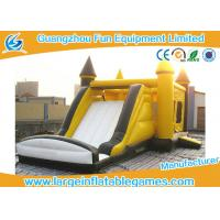 China Puncture Proof Toddler Bouncy Castle , Inflatable Castle Bouncer For Kids Games on sale