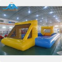 China Customized Mad 's Over Sport 20x10m Inflatable Soap Football Arena / Inflatable Soapy Football on sale