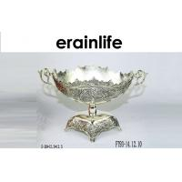 Quality Metal Fruit Tray / Contemporary Fruit Bowls Recycle For Home Decor Festival Gift for sale