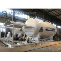 China Professional LPG Tank Trailer Skid Station For Refilling LPG To LPG Cylinder on sale