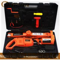 Quality 3 TON Capacity Electric Car Jack With Electric Wrench one Set Box for sale