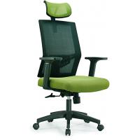 Quality Ergonomic High Back Mesh Office Chair , High Top Desk Chair With Head Up And Down for sale