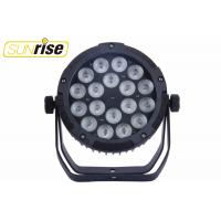 Buy cheap LED stage lighting 18*12W RGBWAP waterproof led par light from wholesalers