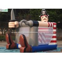 Quality Fire Retardant Toddler Inflatable Bouncing Castle Of Pirate Jack Theme for sale