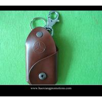 China High Quality Promotion Souvenir Gift Leather keychain with key tag for wholesale on sale