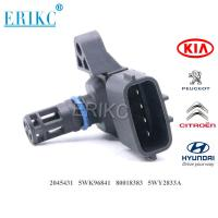 China ERIKC 2045431 80018383 Auto MAP plastic Manifold Absolute Pressure Sensor 5WK96841 on sale