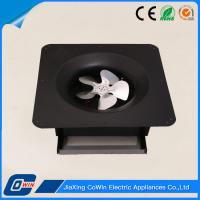 Quality Rechargeable Small Solar Exhaust Fan , Solar Ventilation Fan With Battery Operated for sale