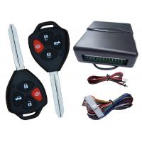 Quality Learning Code Car Alarm Keyless Entry System Working With Remote Central Locking Kit for sale