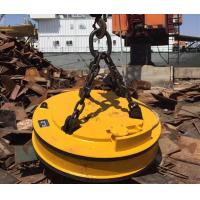 Quality 27.3KW Industrial Lifting Magnets / Magnetic Lifting Devices For Screp Metal Hoisting for sale