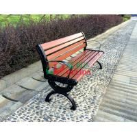 Quality Brown  High Density Wood Plastic Composite Bench 150 * 54 * 73cm Weather Resistant for sale