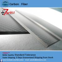 China 4.0mm±0.1mm Real Carbon Fibre Sheet / Carbon Fiber Fabric Sheets Twill Weave Style on sale