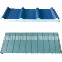 Quality Continuous EPS Sandwich Panel Production Line 0.286 - 0.6mm Thickness for sale