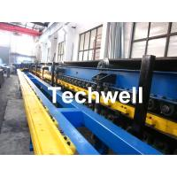 PU Insulated Sandwich Panel Forming Machine With Double Belt Drive Type, Cooling