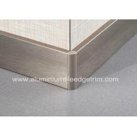 Quality Titanium Gold Aluminium Skirting Boards Perth / Bunnings For Wall Edge Protection for sale