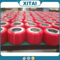 High Quality Factory Supplied  Polyurethane Material 95 Shore A pu wheels for trailer
