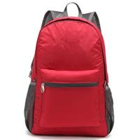 Custom Stylish Economic  Outdoor Sports Backpack Red for Outdoor Travel