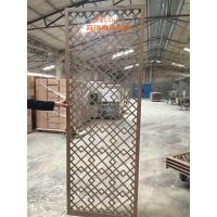 Quality High End Customized Hotel Room Divider , Wooden Room Screen Asia Style for sale