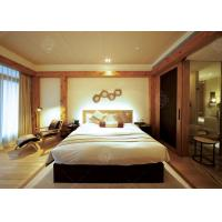 Quality 5 Star Hotel Quality Furniture Wooden Frame , Contemporary King Bedroom Sets for sale