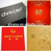Quality Wedding Card Gold Hot Stamp Foils MSDS 640MM × 120M 2 Years Storage Time for sale