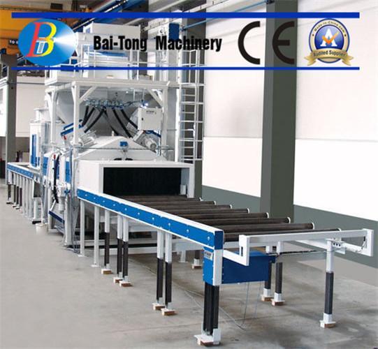 Buy H Beam Electric Shot Blaster , Wheel Shot Blasting Machine Roller Conveyor Type at wholesale prices