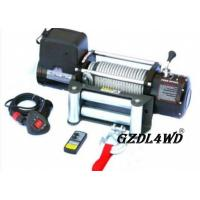 Quality Steel Heavy Duty Truck Winch , 12000lbs Atv Electric Winch With Steel Rope for sale