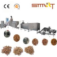 Quality Stainless Steel 80kw Twin Screw Pet Food Extruder Machine With Large Capacity for sale