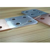 China High Bonding Strength Electrical Bus Bar Flash Weld Substation Fittings on sale