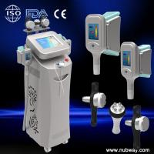 Quality 5 handles cryolipolysis rf cavitation fat reduction equipment for sale
