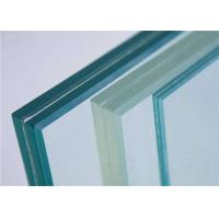 Quality Decorative Clear Tempered PVB Laminated Glass / Tempered Safety Glass For Stairs for sale