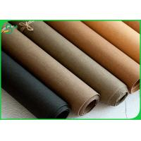 Quality Durable Washable Kraft Paper Fabric 0.3MM 0.55MM Thickness Anti Tear for sale