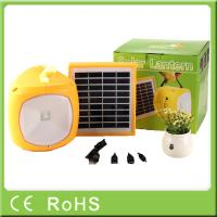 Buy cheap Factory OEM for off-grid rechargeable solar led camping lantern with phone from wholesalers