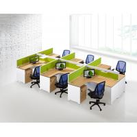 Quality OEM Office Furniture Partitions , 6 Seater Office Workstation With Side Cabet for sale