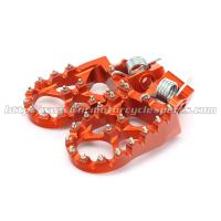 Quality High Quality Wide CNC Aluminum Passenger Foot Pegs For Dirt Bike for sale