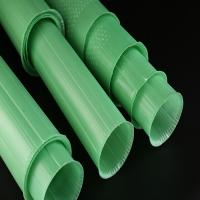 Quality PP Corrugated Plastic Plant Guards Green Color UV Resistant 60cm Length for sale